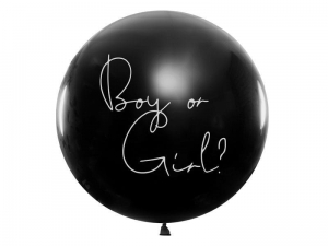 Balon na gender reveal - chłopiec 100cm