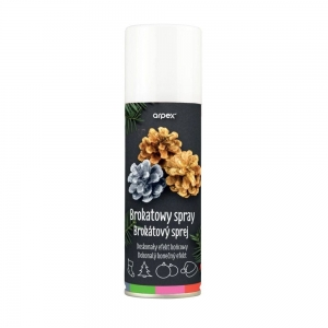 Farba brokatowa multikolor spray 100ml