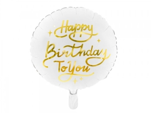 Balon foliowy happy birthday to you 35cm