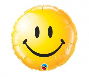 Balon foliowy emotikonka Smile 45cm