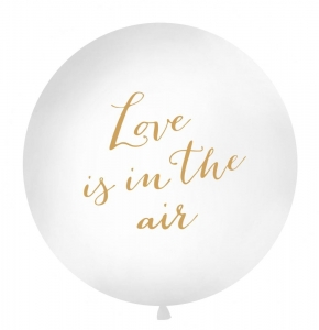 Balon olbrzym love is in the air 100cm