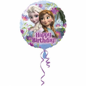 Balon foliowy Frozen happy birthday 43cm