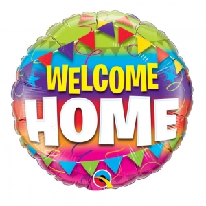 Balon foliowy Welcome Home 45cm