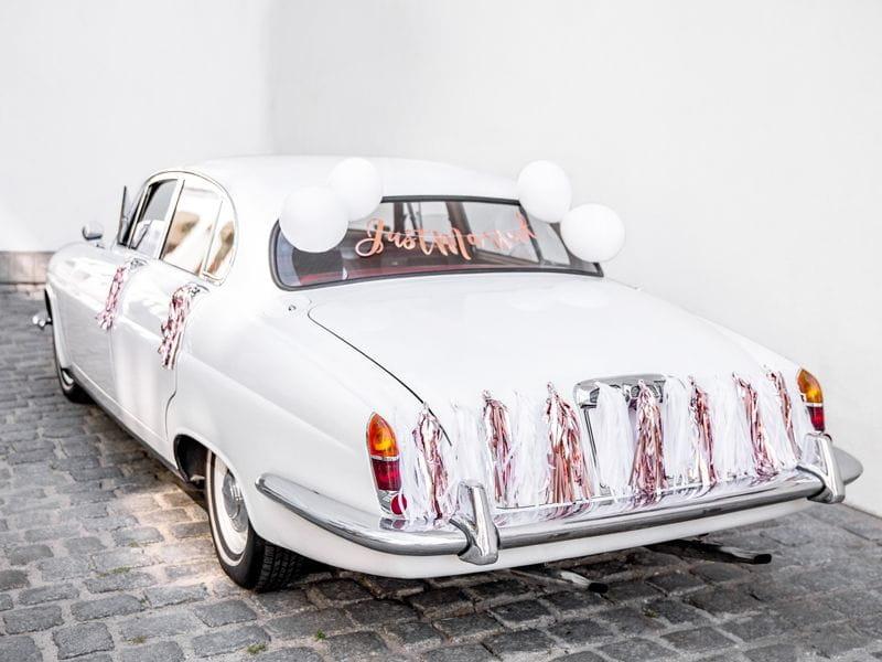 798e62ac3fcc02 ... Zestaw dekoracji na samochód Just Married złoty róż. big_ZDS4_01_S.jpg